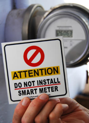 Do NOT install smart meters